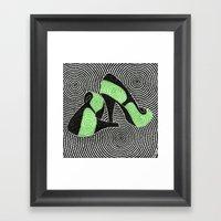 High Heel 3 Framed Art Print