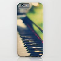 iPhone & iPod Case featuring piano by Kristina Strasunske