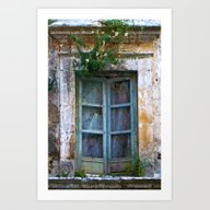 Abandoned Sicilian House… Art Print