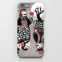 Queen And King Of Hearts iPhone 6 Slim Case