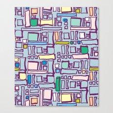 Blocked Canvas Print