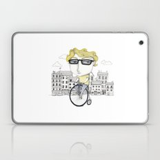 Biking Laptop & iPad Skin