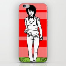 She Walks, We See iPhone & iPod Skin