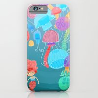 iPhone & iPod Case featuring Jellyfish by ilana exelby