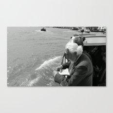 Street Photography a la Venice  Canvas Print