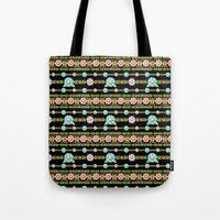 Millefiori Boho Chic Stripe Tote Bag