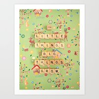 From Little Things Big T… Art Print