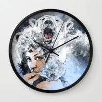 Arctic Tears Wall Clock