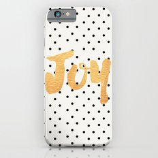 Joy - Polka dots and gold iPhone 6 Slim Case
