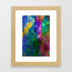 Mind Jungle Framed Art Print