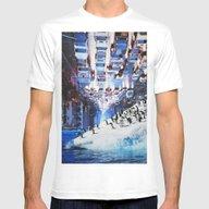 T-shirt featuring Penguin Parking by John Turck