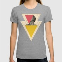 T.B.A.T.G. Womens Fitted Tee Tri-Grey SMALL