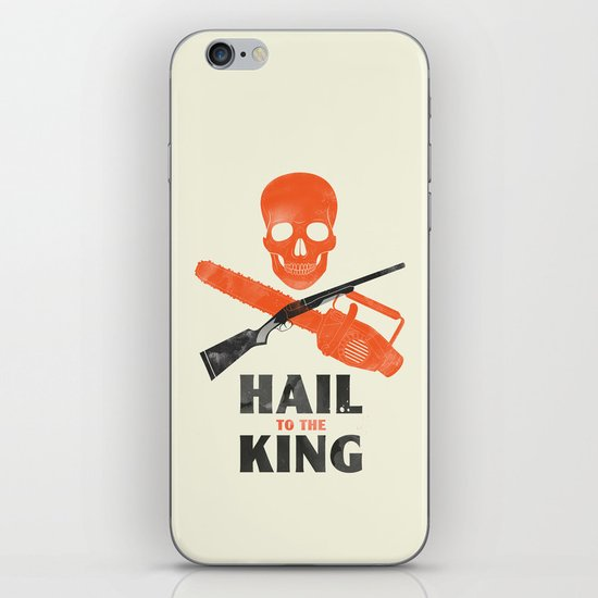 Hail to the King! iPhone & iPod Skin