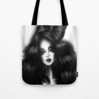 Hair bow Tote Bag