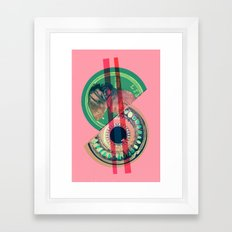 the price of birth control Framed Art Print