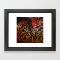 Petrol Framed Art Print