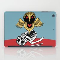 Búho de la Muerte iPad Case