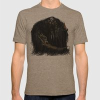 Gravelord Nito - Dark So… Mens Fitted Tee Tri-Coffee SMALL