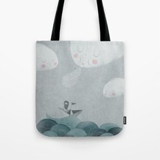 Blowing by the Wind Tote Bag