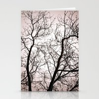 Branches in Winter Stationery Cards