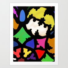 turkish in bright colors Art Print