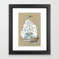 Polar Bear Christmas Tim… Framed Art Print