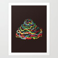 Plastic Dawn Art Print