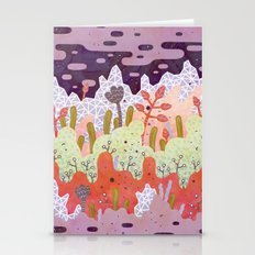 Crystal Forest Stationery Cards