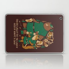 Oo-de-lally (brown Versi… Laptop & iPad Skin