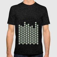 Pattern_01 Mens Fitted Tee Tri-Black SMALL