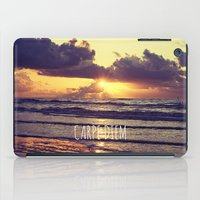 Carpe Diem iPad Case