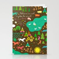 Nature Is Home 1 Stationery Cards