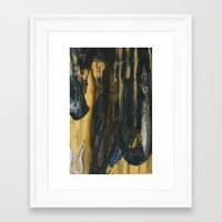 Abstractions Series 003 Framed Art Print