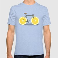 Zest Mens Fitted Tee Tri-Blue SMALL
