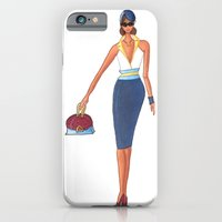iPhone & iPod Case featuring On the Town by AZerhusen