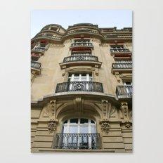 Paris Apartment Canvas Print