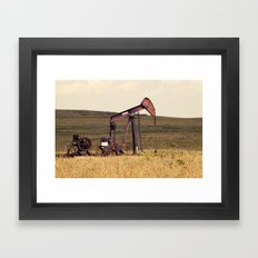 Oil Pump Number 9 Framed Art Print