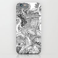iPhone & iPod Case featuring The Six Swans by Kirsten McNee