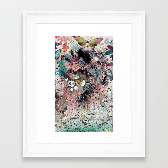 The Great Forage Framed Art Print