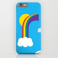 R For Rainbow iPhone 6 Slim Case