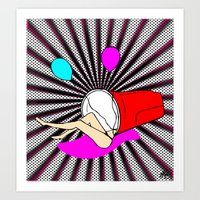 There's A Party In My Cu… Art Print