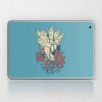 hands! print Laptop & iPad Skin