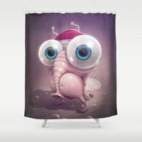 Beanie Shower Curtain