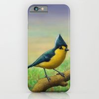 Yellow Tit iPhone 6 Slim Case