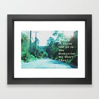 What Will Become Of Us Framed Art Print