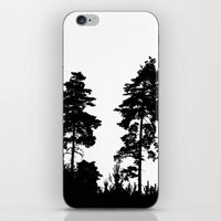 Pine Trees iPhone & iPod Skin