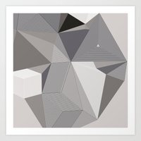Origami III Art Print