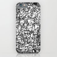 Misspent Youth Watercolor Doodle iPhone 6 Slim Case