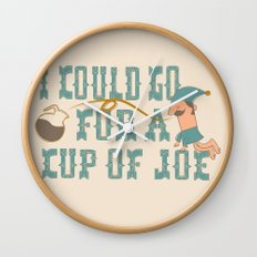 Cup o' Joe Wall Clock