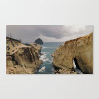 Pacific City, Oregon Canvas Print